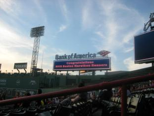 Boston Marathon - Fenway Park