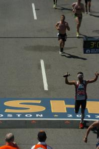 Boston Marathon - Finish