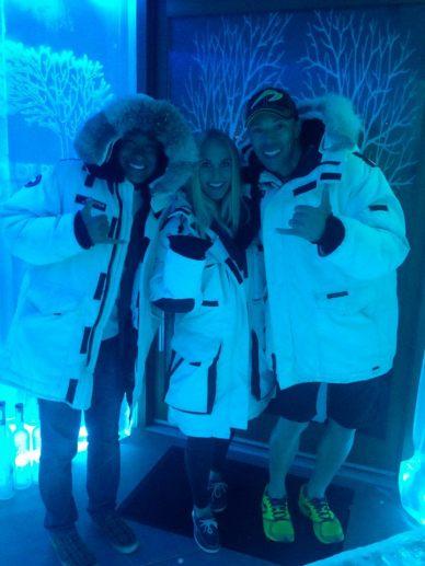 Bearfoot Vodka Ice Room - Whistler