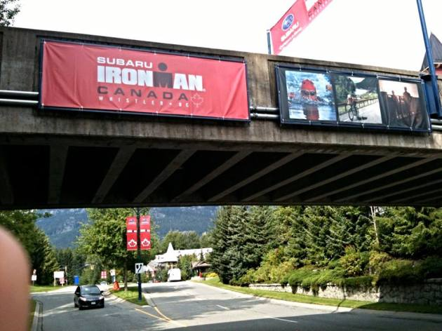 Ironman Canada Signs