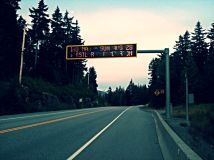 Highway 99 Sign
